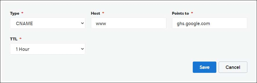 How To Setup Custom Domain For Blogger