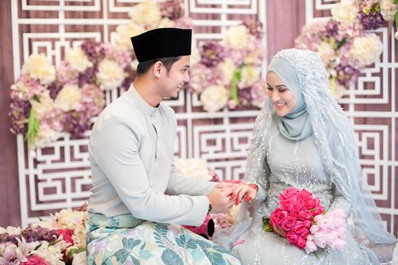 Gambar di Majlis Pernikahan Hanis Zalikha & Hairul Azreen