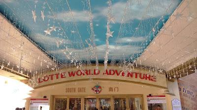 Tourist Places To Go In Korea Seoul - Lotte World