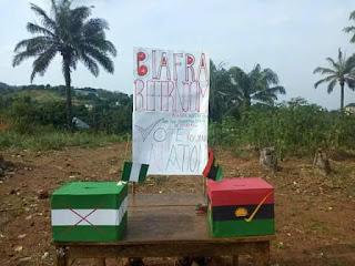 Breaking News! Biafra Mock Referendum Happening Now In Enugu (Photos)