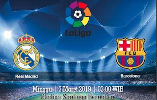 Prediksi Real Madrid vs Barcelona 3 Maret 2019