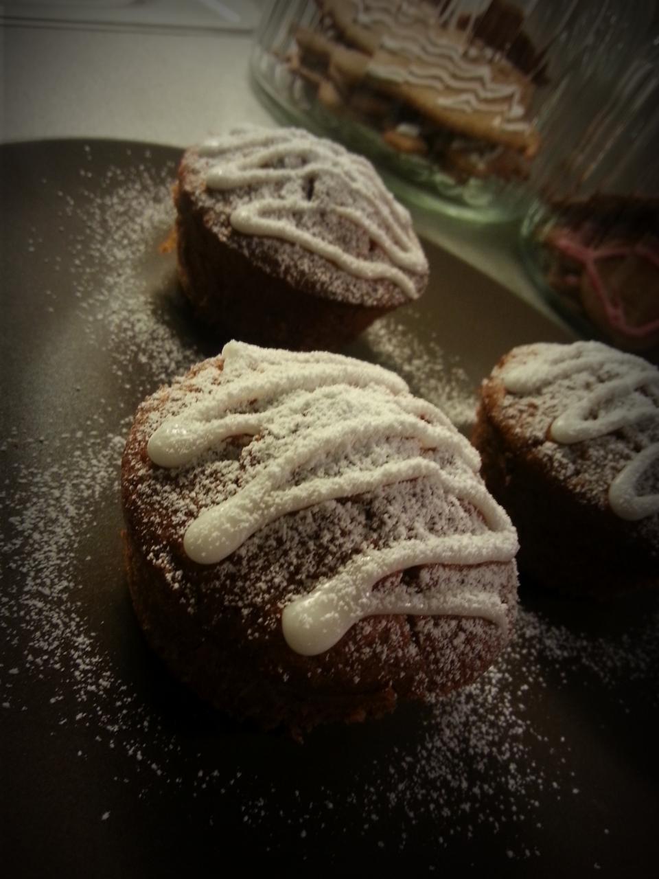Jouluiset Muffinit