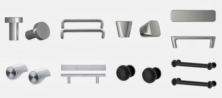Marzua tiradores para cocinas de ikea - Tiradores de puertas de cocina ...