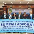 Pengangkatan Sumpah Advokat AAI DPC Jakarta Utara