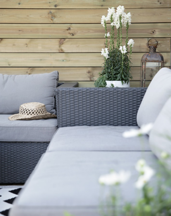 8 Decotips para decorar una terraza de estilo escandinavo