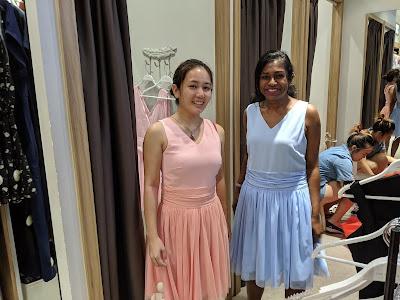 bridesmaid dress the showcase