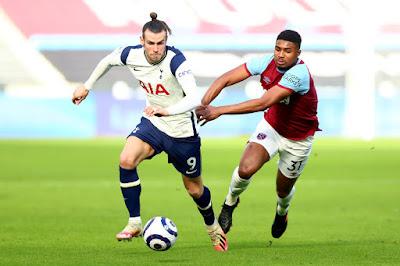 ملخص واهداف مباراة وست هام وتوتنهام (2-1) الدوري الانجليزي