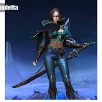 Hero Baru Benedetta Mobile Legends Role Assassins, Ini Penjelasannya