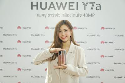 Huawei เปิดตัว HUAWEI Y7a สมาร์ทโฟนสุดคุ้มตอบโจทย์ทุกไลฟ์สไตล์สายเอนเตอร์เทน ครบจบ ราคาโดนใจ  และ Huawei Watch GT 2 Pro พรีเมียมทั้งดีไซน์และวัสดุ