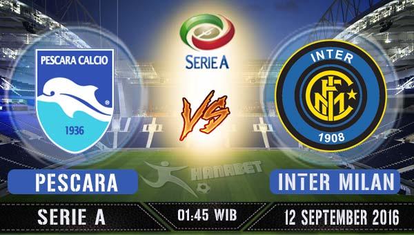 Prediksi Skor Pescara vs Inter Milan 12 September 2016 ...