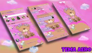 OSO Teddy Bear Theme For YOWhatsApp & Aero WhatsApp By Ale