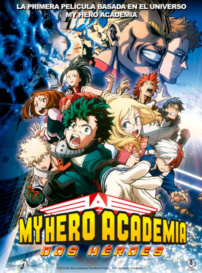 My Hero Academia: Dos héroes (Boku no Hero Academia: Futari no Hero) film - Selecta Visión