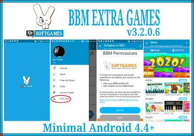BBM MOD EXTRA GAMES v3.2.0.6 APK (BBM Standart Clone & Unclone)