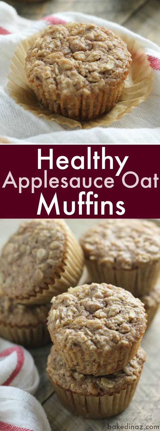 A healthy muffin that tastes amazing. Great for breakfast or snack time!