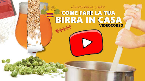 """VIDEOCORSO """"Come Fare la tua Birra in Casa"""""""