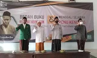 Tokoh Lokal juga Berperan Penting Membangun Bangsa  Pokok Pembahasan Bedah Buku KH Syafawi oleh NU Kencong