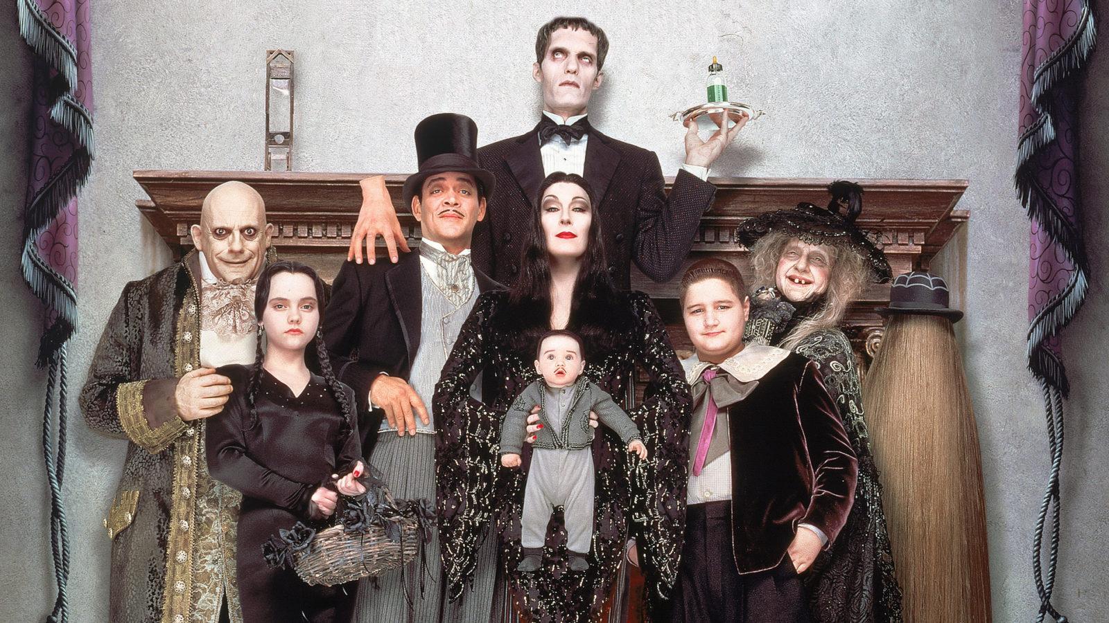 La Familia Addams 27 años