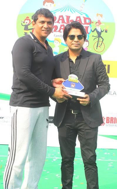2. Aslam Shaikh with  Ankit Tiwari