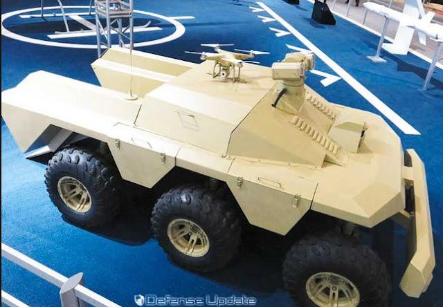 SHARP CLAW 2 Kendaraan Tempur Tanpa Awak Asal Cina
