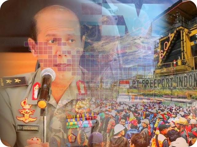 Amankan Mayday di Timika, Polda Papua Siagakan 750 Personil