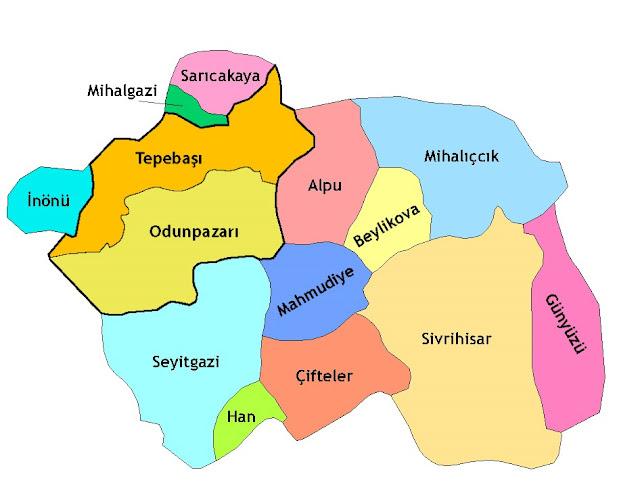 Eskişehir'in İlçeleri