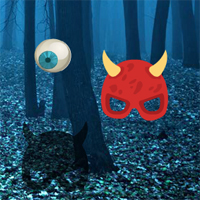 Bigescapegames Big Spooky Forest Escape