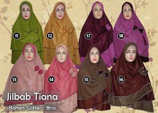 Jilbab instan syar'i jumbo modern