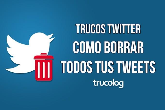 Truco: Como borrar todos tus tweets en Twitter