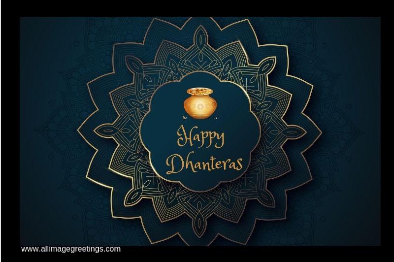 Dhanteras wishing image