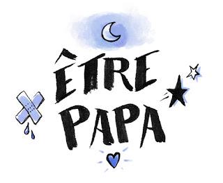 être papa bd parent humour anecdote