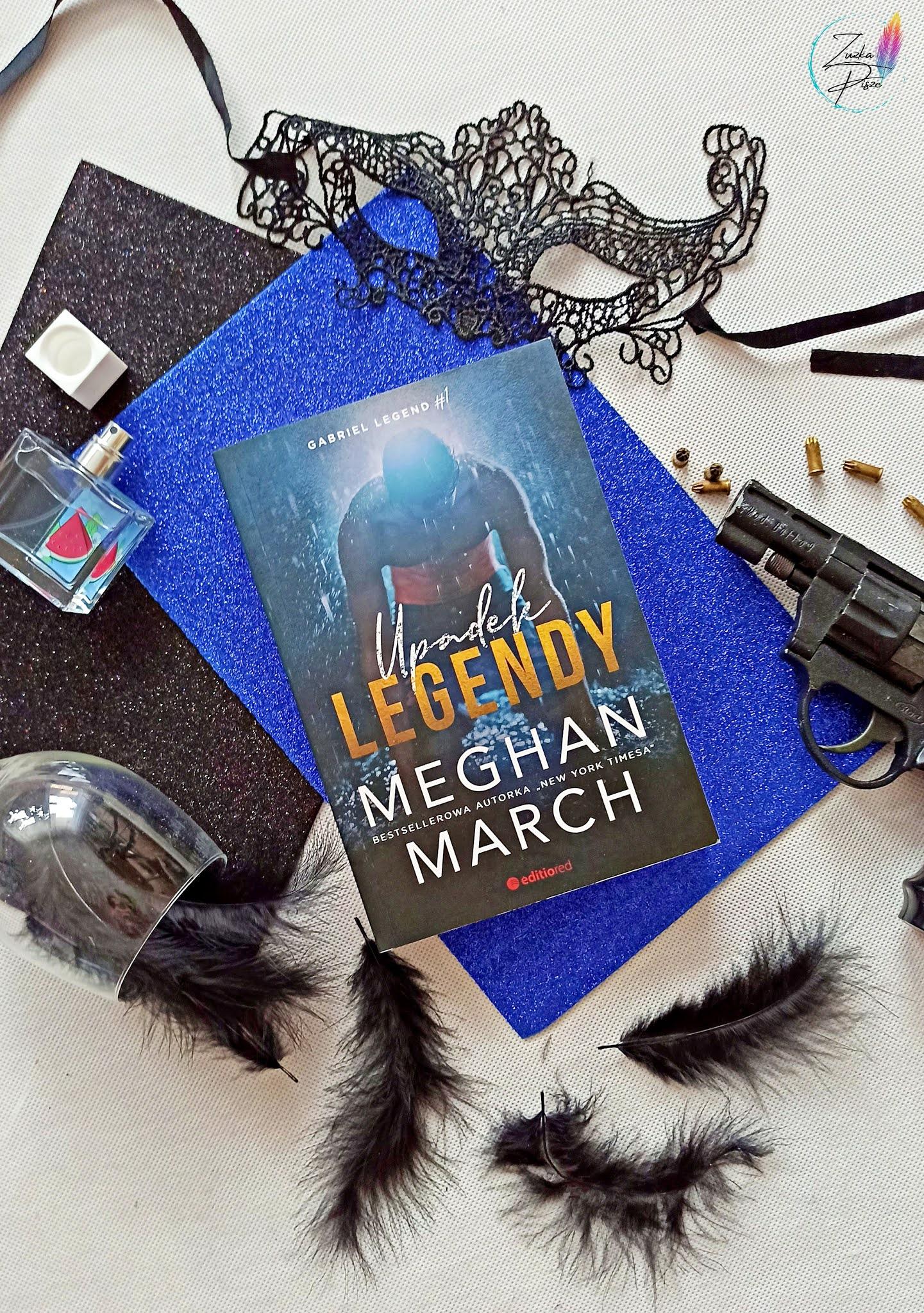"""Meghan March """"Upadek legendy"""" - recenzja książki"""