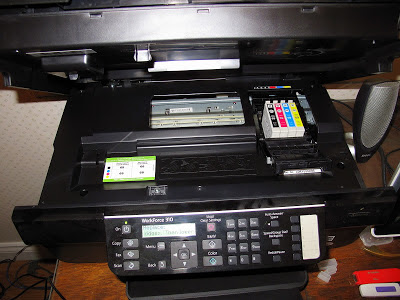 reset epson printer