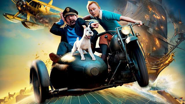 Render 3D imagen nº 1 de la película Las aventuras de Tintin: El secreto del Unicornio