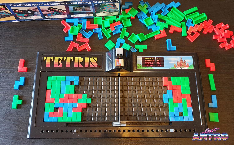 Tetris gioco da tavolo Tomy Giochi Preziosi 1991 Antro
