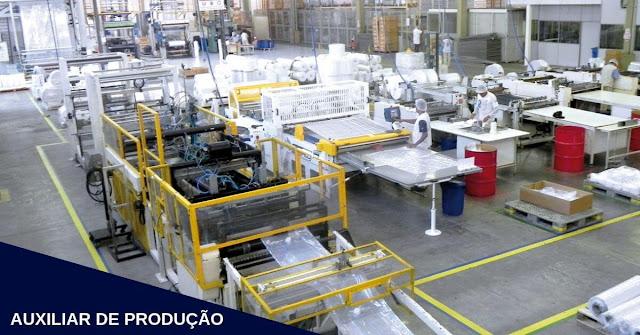 auxiliar de produção araucaria