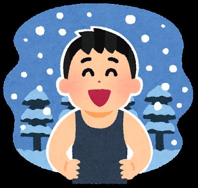 季節感のない人のイラスト(男性)