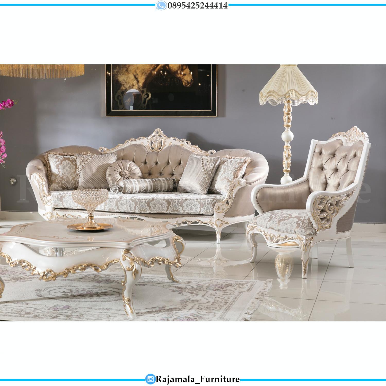 Sofa Tamu Ukir Jepara Luxury Classic Design New Majestic Style RM-0091