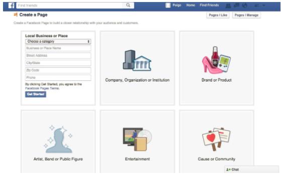 Cara Membuat Halaman Facebook [ terbaru ]