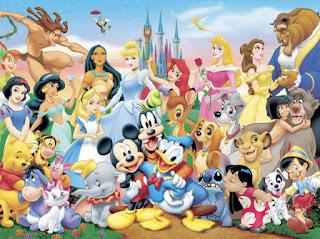 Qual Personagem da Disney Você Seria, Digite nos Comentários do Post do Facebook.