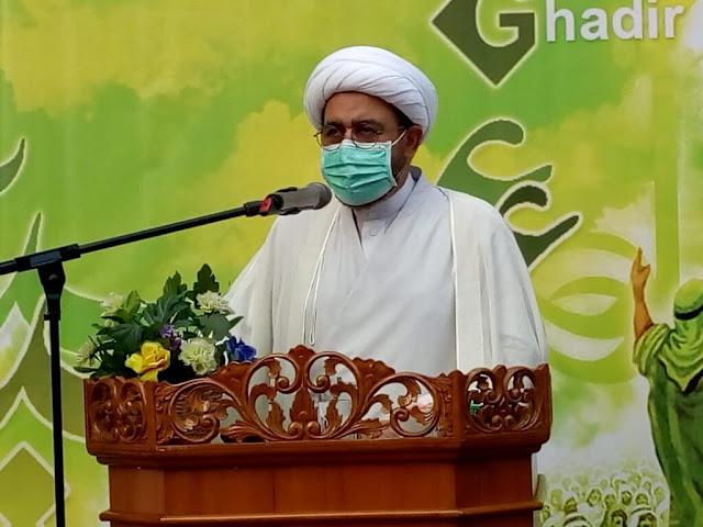 Foto Ritual Ghadir Khum Syiah di ICC Jakarta 2020