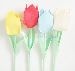 como-hacer-tulipanes-de-papel-origami-para-principiantes-creando-y-fofucheando