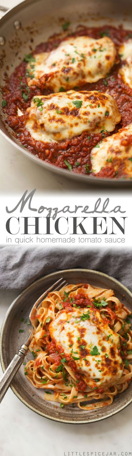 30 Minute Mozzarela Chicken In Homemade Tomato Sauce