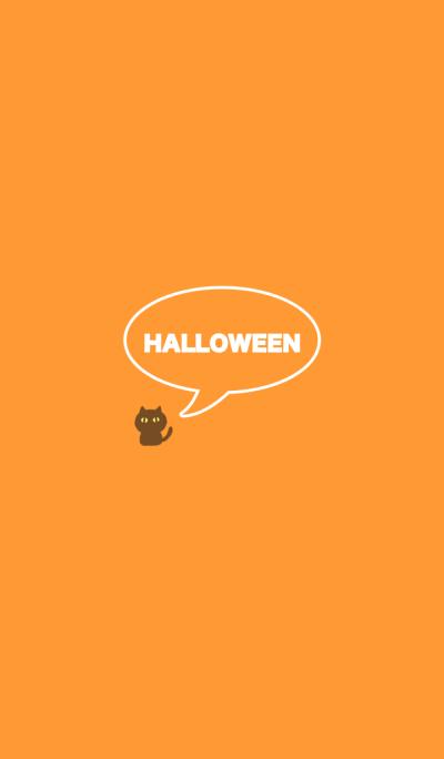 SIMPLE HALLOWEEN -orange-