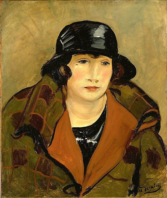 Andre Derain - Woman with a Hat
