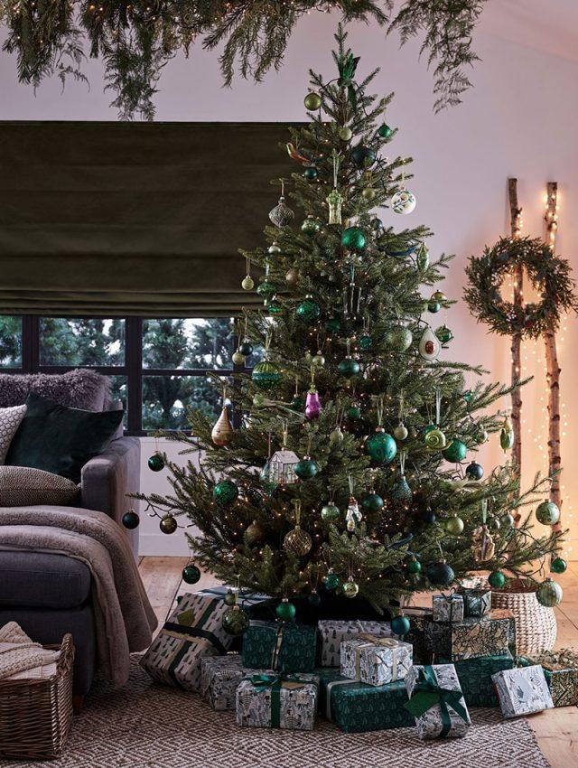 Ispirazioni inglesi per un Natale in verde