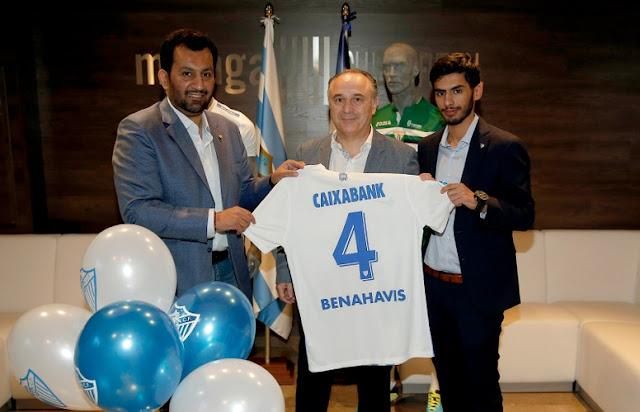 El Málaga y CaixaBank renuevan una vez más