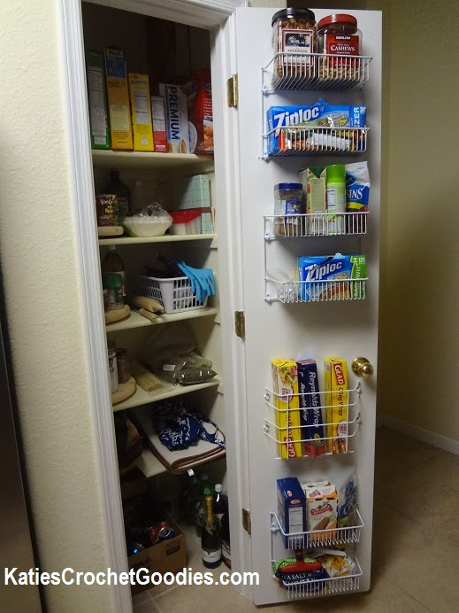 how to add storage to pantry door