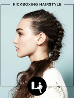 Workout Hairstyles - KICKBOXING HAIRSTYLE