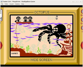 game watch octopus sega megadrive homebrew