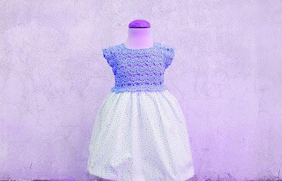 4 - Crochet Imagen Falda para canesú rosa a crochet y ganchillo por Majovel Crochet